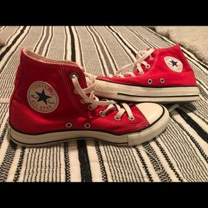 Women's High Top Converse